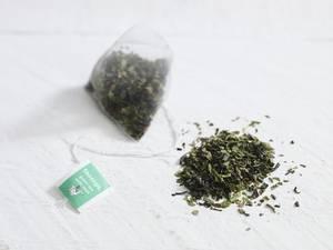 Bilde av Grønn te med mynte