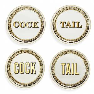 Bilde av Cock/tail glassbrikker 4pk
