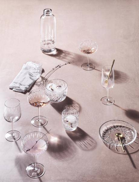 Champagneglass coupe rosa