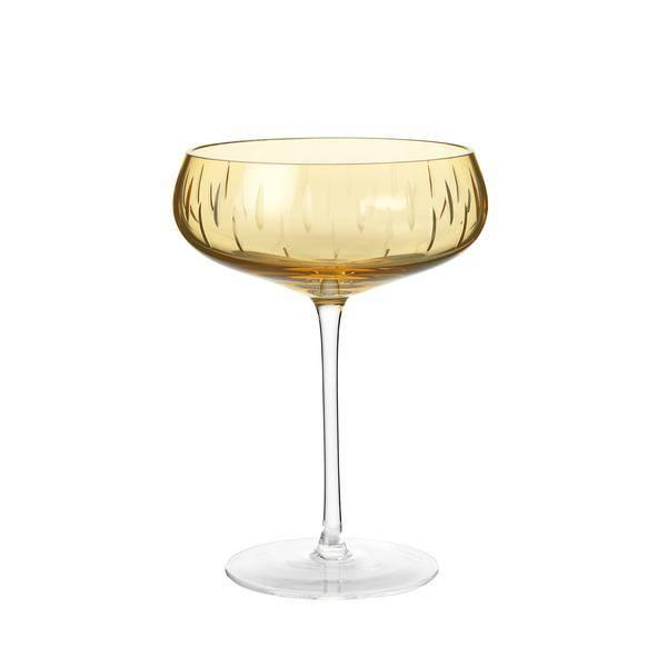Bilde av Champagneglass coupe amber