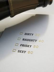 Bilde av Dirty, naughty, frisky...kort | Cardsome