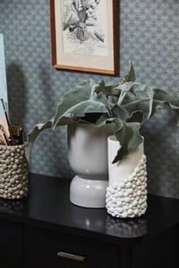 Bilde av Naxos vase hvit 25cm