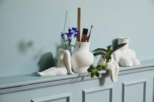 Bilde av Avaji overkropp vase hvit