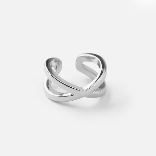 Bilde av Crossover cuff sølv | Orelia
