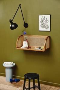 Bilde av Sidebord skultur lyseblå
