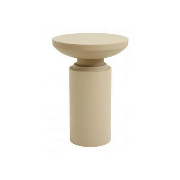 Bilde av Sidebord skulptur beige