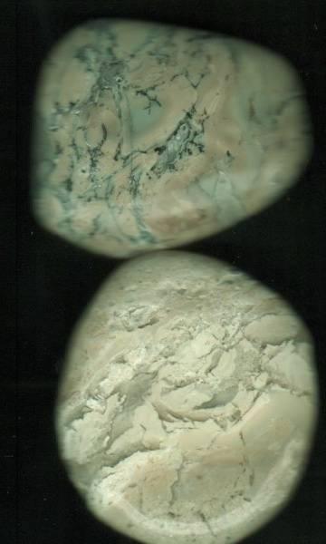 Bilde av Opal Mos Lommestein 4cm