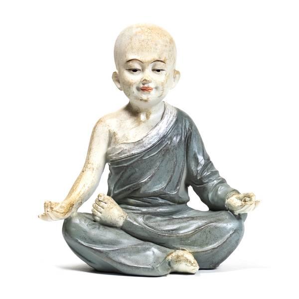 Bilde av Yoga Statue Munk