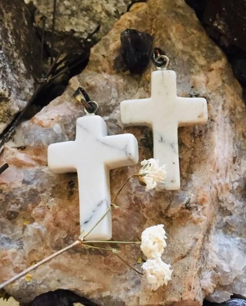 Bilde av Kors, Hovelitt Hvit