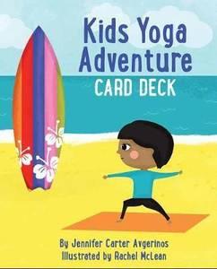 Bilde av Kids Yoga Adventure Card Deck