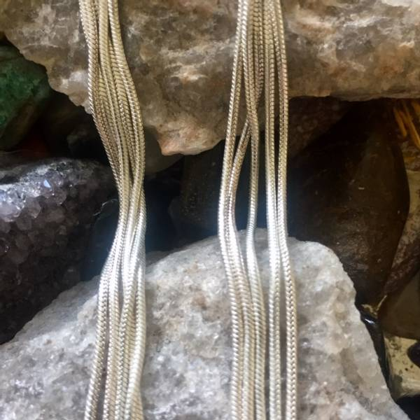 Bilde av Snake Kjede Sølv Sterling