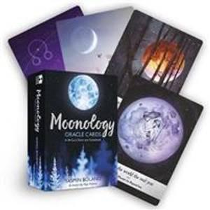 Bilde av Moonology Oracle Cards