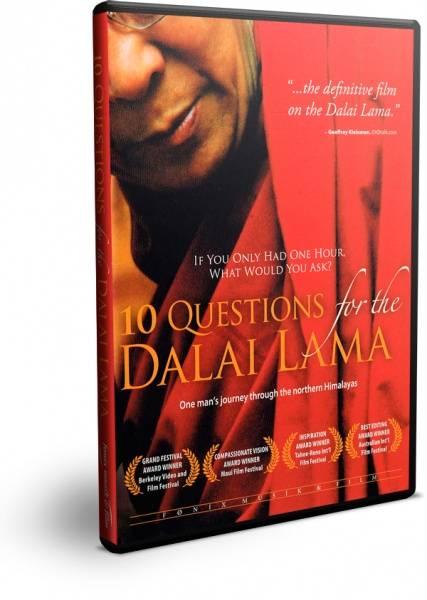 Bilde av 10 QUESTIONS FOR THE DALAI