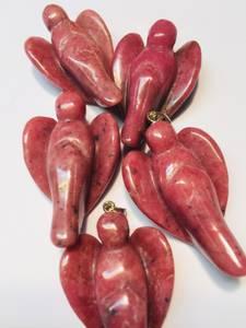 Bilde av Engelsmykke i Rhodonitt 3,5cm