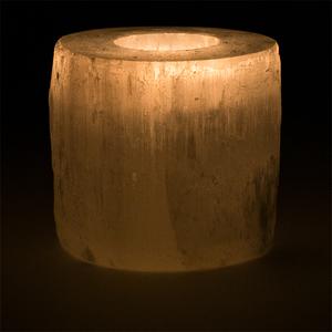 Bilde av Selenitt Sylinder Telysholder