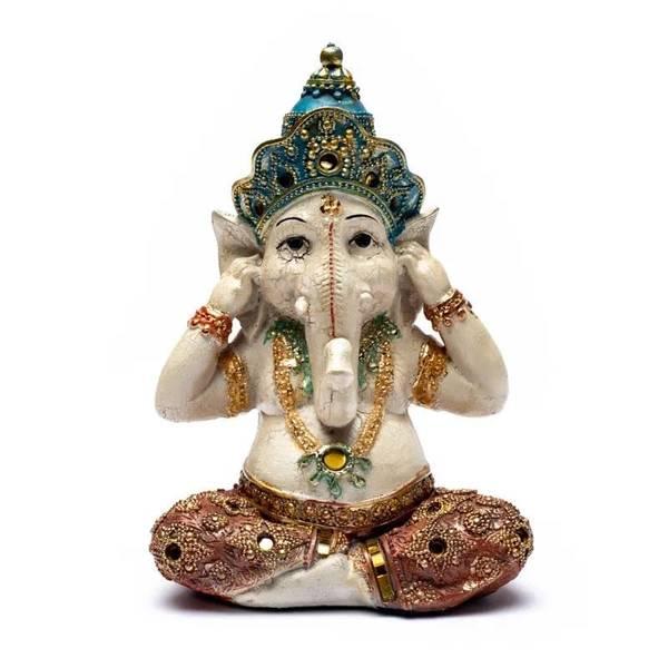 Bilde av Ganesh Statue Hear No Evil