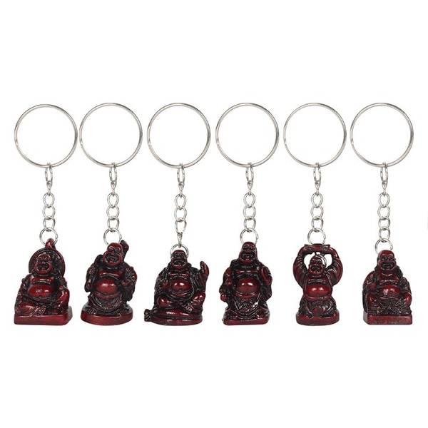 Bilde av Happy Buddha Nøkkelring