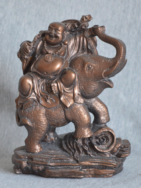 Bilde av Buddha på elefant