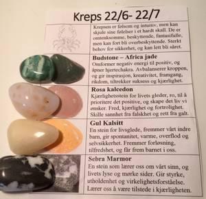 Bilde av Krepsen Stenene