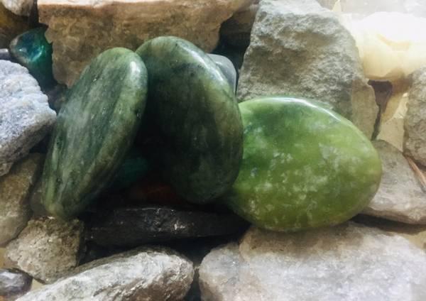 Bilde av Serpentin Mørk Grønn