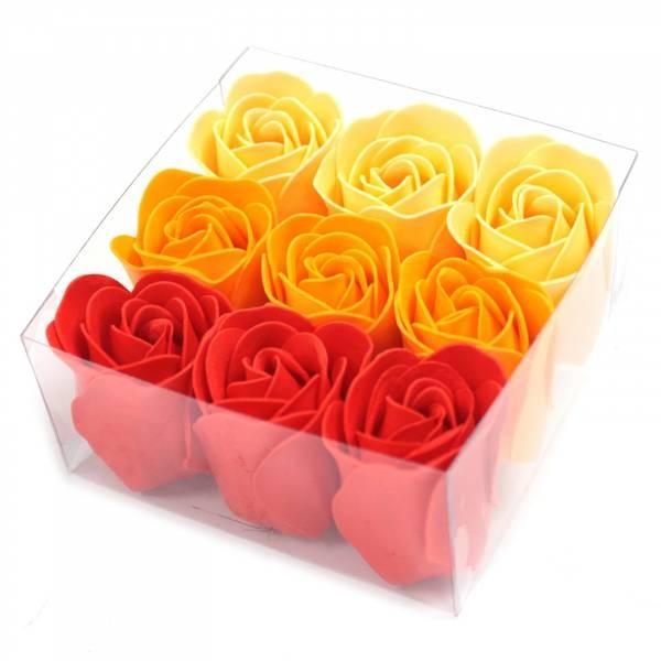 Bilde av Peach Roses Såpeblomster
