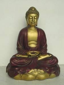 Bilde av Buddha 29 cm Lotusmeditasjon