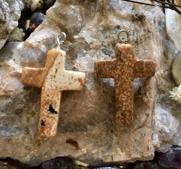 Bilde av Kors, Jaspis Landskap