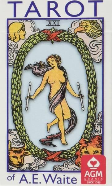 Bilde av Tarot of A E Waite Blue