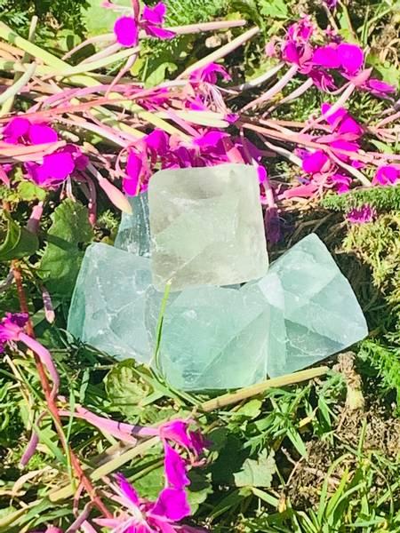 Bilde av Fluoritt Grønn Oktaeder