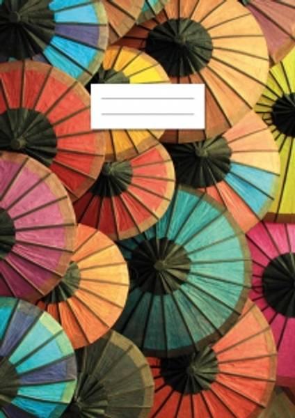 Bilde av Umbrellas Linjert Skrivebok