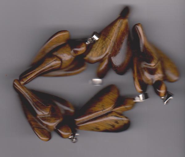 Bilde av Engelsmykke i Tigerøye 3,5cm