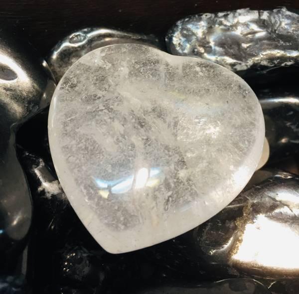 Bilde av Bergkrystall hjerte 4,5cm