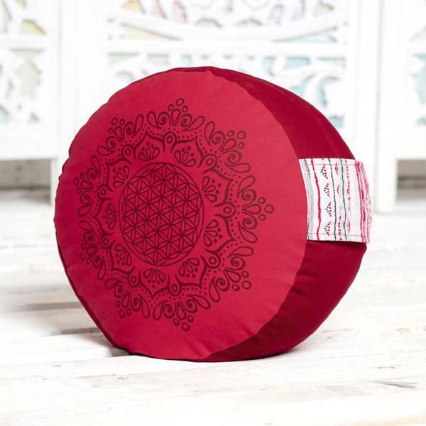 Bilde av Meditasjonspute Rød 17cm