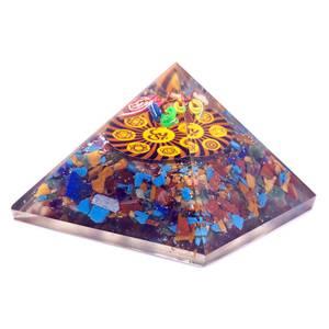 Bilde av Orgonitt pyramide OM Chakra