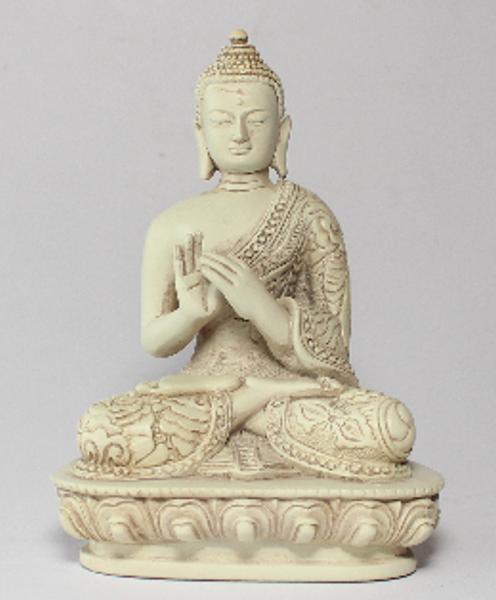 Bilde av Buddha 13cm stenfinish