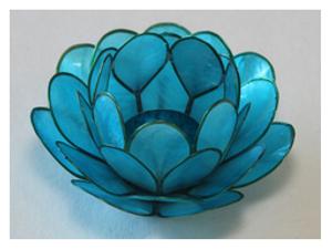 Bilde av Lotus Lys Light Aqua