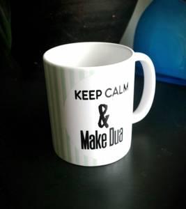 Bilde av Keep calm & make dua - Kopp