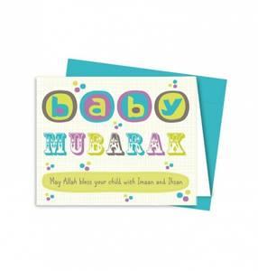 Bilde av Gratulasjonskort baby -