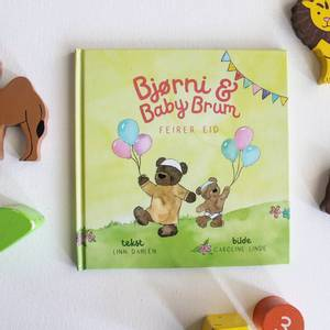 Bilde av Bjørni Og Baby Brum - Feirer