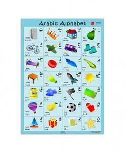 Bilde av Arabisk alfabet med bilder –