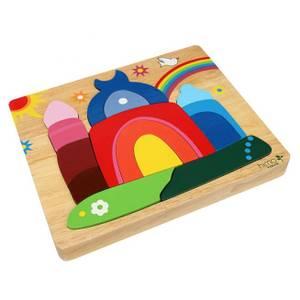 Bilde av Moské med regnbue -