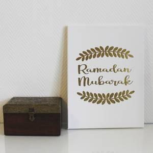 Bilde av Ramadan Mubarak - Stort