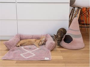 Bilde av Rosa Fantail hund og katteseng