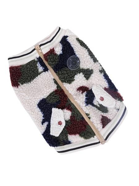 Teddy camo-jakke til hund