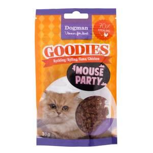 Bilde av Mouse party til katt - godbiter med kylling