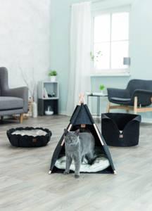 Bilde av Trendy tipitelt i filt til hund og katt