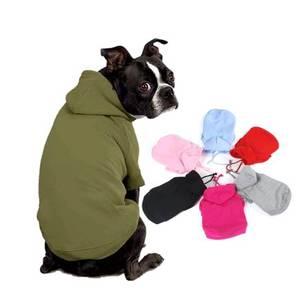 Bilde av Hoodie i mange farger til hund: HVIT XL-3XL