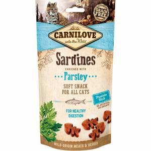 Bilde av Carnilove kattesnacks med sardin