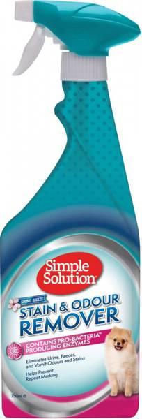 Simple Solution flekk og luktfjerner - Spring breeze