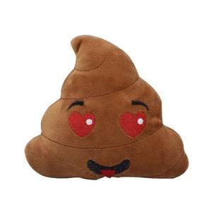 Bilde av Poop plysjleke til hund - hjerte